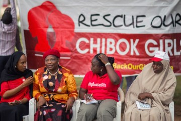 Chibok schoolgirl freed in Nigeria seven years after abduction