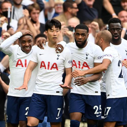 Son scores winner as Tottenham stun Man City