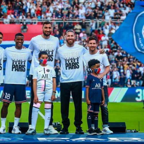 Messi & Co unveiled ahead of PSG match