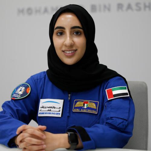 Photo Story: The first Arab female astronaut Nora Al Matrooshi
