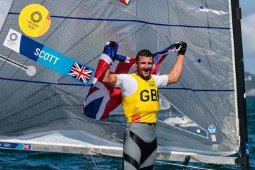 Olympics: Britain wins two more gold medals in sailing