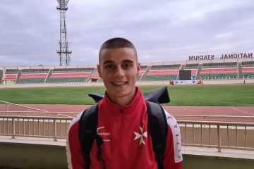 Jeremy Zammit in Kenya for World Under 20 Athletics Championship