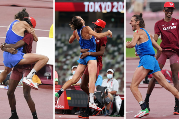 'Can we have two golds?' – Barshim, Tamberi sign off the Olympic Moment
