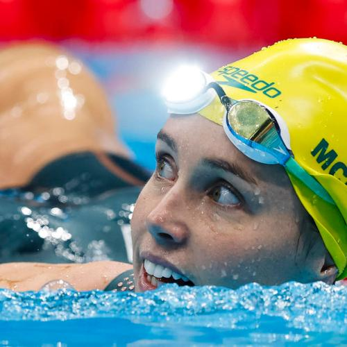 McKeon gets record seventh Olympic medal, Dressel clinches sprint double