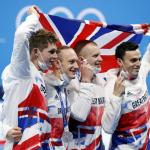 Olympics Swimming – Relay silver completes Britain's best ever Games in the pool