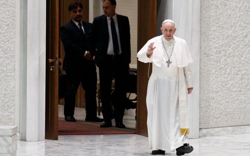 Pope, on anniversary of Beirut blast, promises Lebanon visit