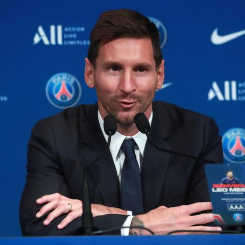 Messi says dream is to lead Paris St Germain to Champions League glory