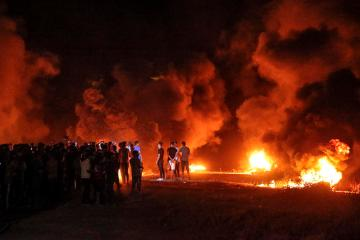 Israel bombs Hamas sites in Gaza over fire balloons – military