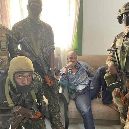 Elite Guinea army unit says it has toppled president, dissolved government