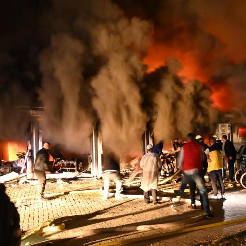Fire in North Macedonian COVID-19 hospital kills at least 10