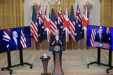 In escalation over submarine deal, France recalls envoys from U.S. and Australia