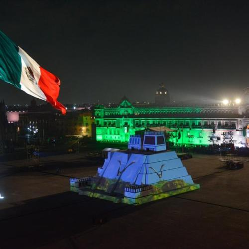 Photo Story: The Anniversary of El Grito in Mexico