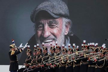 Photo Story: Final farewell for late French actor Jean Paul Belmondo