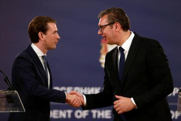 Austria and Serbia vow to stop Afghan refugees entering Europe