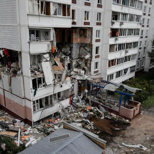 Photo Story: Fatal gas explosion in Noginsk, Russia
