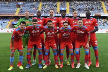 Napoli crush Sampdoria to continue perfect start