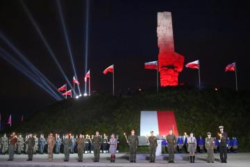 Photo Story: 82nd anniversary of outbreak of World War II commemorated in Poland