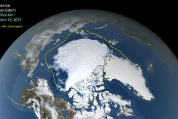Photo Story: Arctic Sea ice has reached minimum extent for 2021