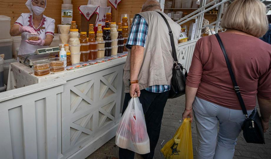 Photo Story – The annual honey market at the Kolomenskoye Estate Museum in Moscow