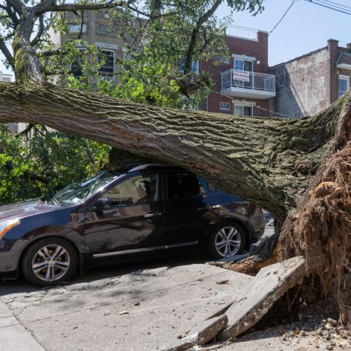 Surveying storm damage, Biden vows to help Louisiana recover, promotes infrastructure plan