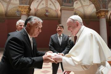 Pope inspired me over family values, says Hungary's Orban