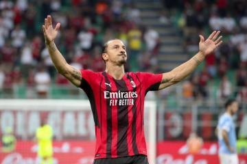 Milan's Ibrahmovic not Superman, won't play at Juve says coach