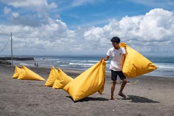 Photo Story – Tourism amid COVID-19 pandemic in Bali, Indonesia