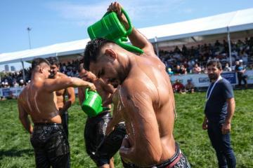 Photo Story – Ulugazi Oil Wrestling Festival in Istanbul