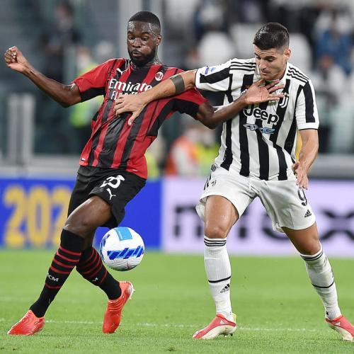 Rebic earns Milan late draw at winless Juve