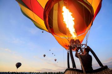 Photo Story: Hot air balloons flood the sky of the Mexican city of Puebla