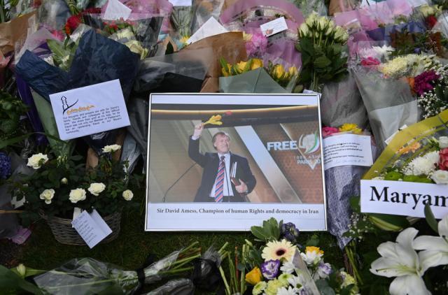 Suspect in Sir David Amess murder detained under Terrorism Act