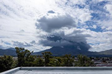 Japan's Mount Aso erupts, alert level raised