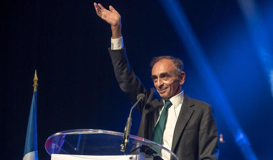 New poll puts Zemmour in round two of French vote, behind President Macron
