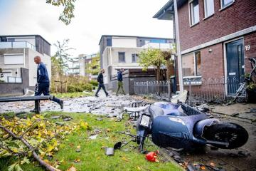 Photo Story: The Netherlands and France hit by strong winds