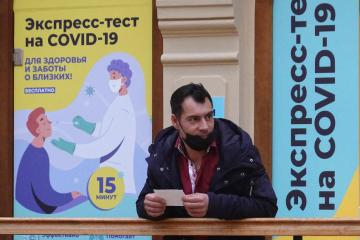 Russia reports record-high daily COVID-19 infections