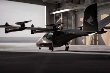 Flying taxis to take to the sky in mid-2020s, says UK's Vertical Aerospace