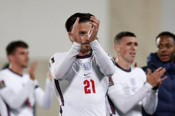 Grealish opens England account in 5-0 win over Andorra