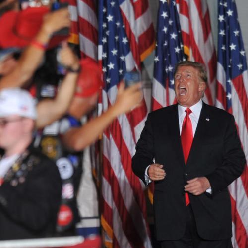 Photo Story – Trump attends Save America rally