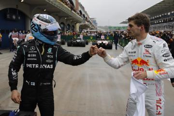Bottas wins in Turkey, title advantage to Verstappen