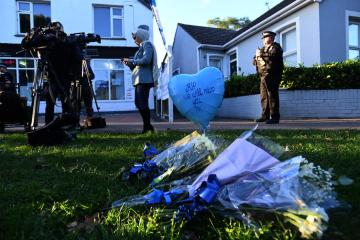 British police says murder of lawmaker declared as a terrorist incident