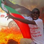 Photo Story – Demonstration in support of civilian government in Sudan