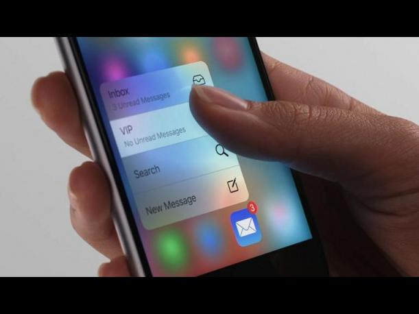 iPhone 6S - 3D Touch