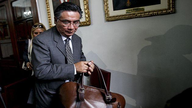 César Nakasaki, abogado del expresidente Fujimori. (César Fajardo)