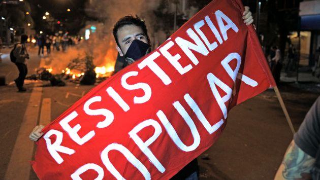 Las manifestaciones de junio reunieron a millones de personas en las calles. (AFP)