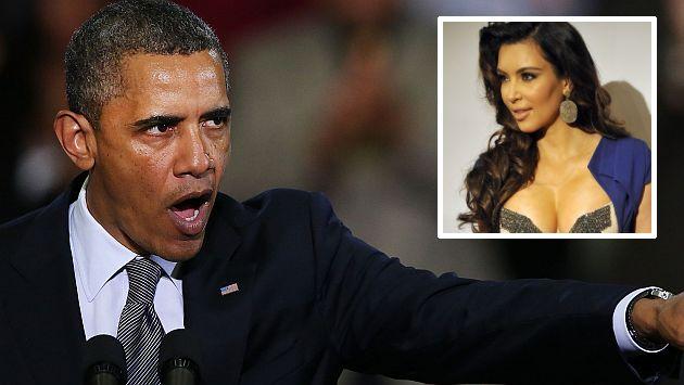 Barack Obama no se guardó las críticas a Kardashian. (Agencias)