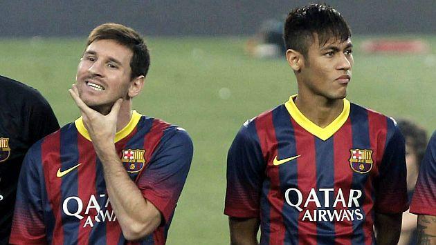 Neymar estaría ganando más que Messi. (EFE)