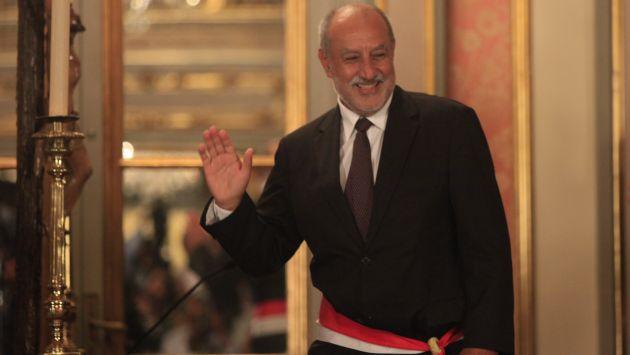 EN PROBLEMAS. Ministro defendió intereses de petrolera extranjera que demandó al Estado peruano. (USI)