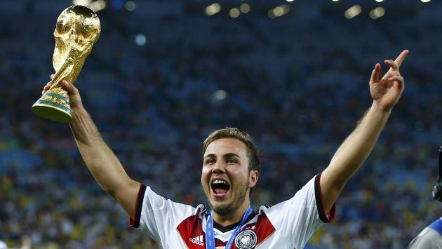 Resultado de imagem para Mario Götze Copa do mundo 2014