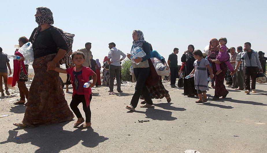 Estados Unidos, Irak, Estado Islámico, Yazidíes