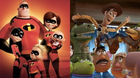 Toy Story 4 Los Increíbles 2